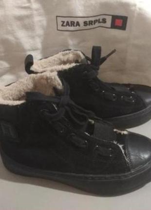 Оригинал замшевые ботинки