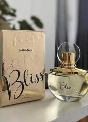 Женская парфюмированная вода bliss блис фармаси farmasi