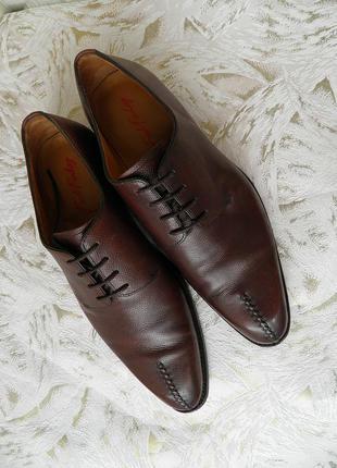 Туфли мужские натуральная кожа fred finlay
