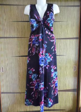 Платье «в пол» , лето f&f размер 16 – идет 50-50+.