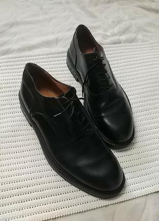 Брендовые кожаные туфли классика pe predilection