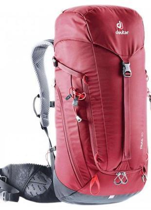 Топовый треккинговый рюкзак deuter trail 30 л.