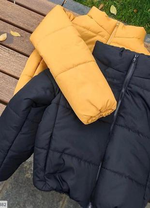 Куртка ветровка дутая пуховик плащ