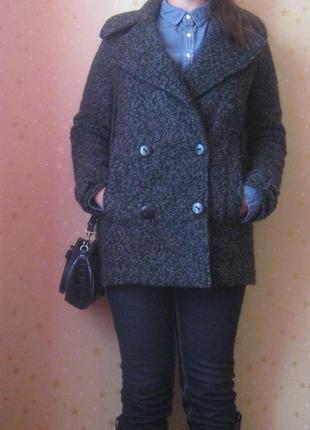 Шикарное теплое пальто tommy hilfiger denim oversize оверсайз оригинал