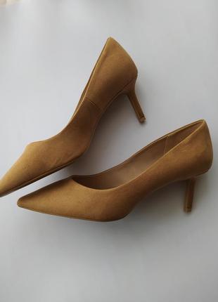 Туфлі лодочки h&m еко-замші