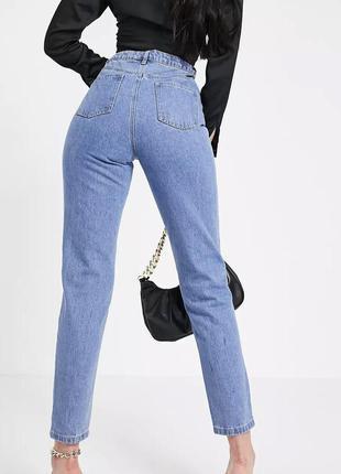 Мом джинсы высокая посадка mom missguided
