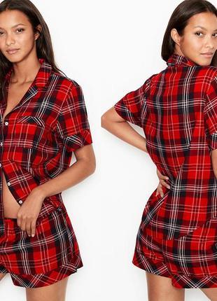 Любимые фланелевые пижамки victoria's secret