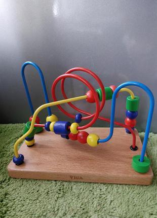 Развивающая игрушка  viga деревянный лабиринт