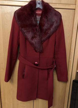 Пальто, пальто с натуральным мехом