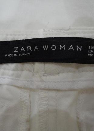 Джинсы, брюки узкие, скины, джеггинсы zara, размер s5