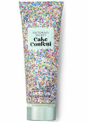 Парфюмированный лосьон для тела victoria's secret cake confetti