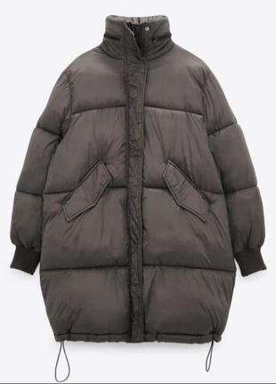 Куртка пуховик zara m