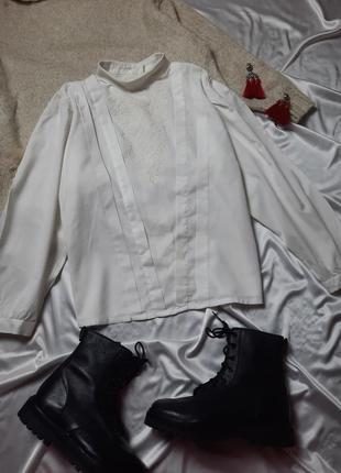Винтажная рубашка с вышивкой