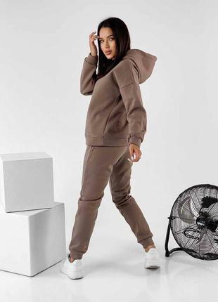 Тёплый базовый костюм на флисе