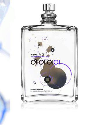 Крутой аромат в стиле escentric molecules 01  из дубая, парфюм унисекс
