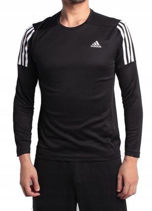 Спортивный лонгслив adidas ® men's running long sleeve shirts