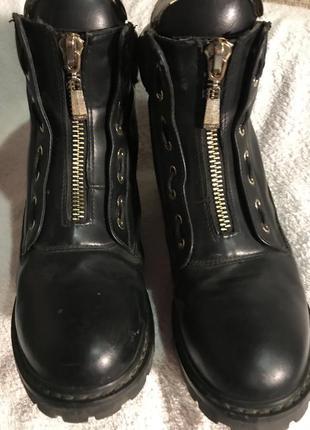 Ботинки кожа 40