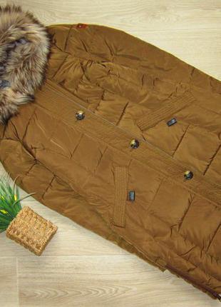 Красивая курточка, очень теплая, tom tailor, размер м, длина 87 см.  рукав 65 см.  в груди  50 см.