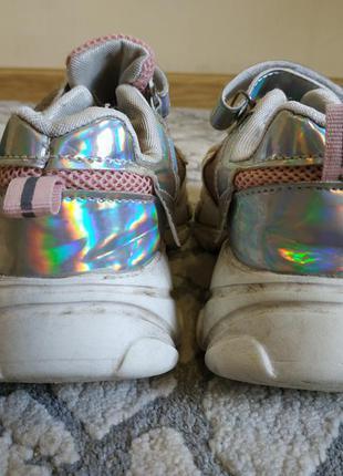 Крутые кроссовки на высокой подошве 20 см стелька