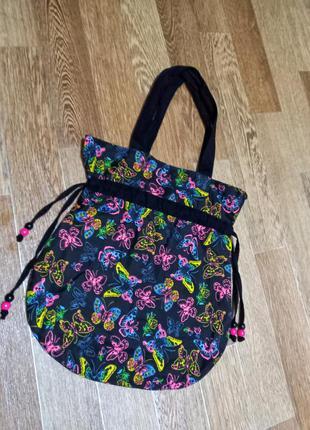 Класна сумка авоська  в ідеальному стані  котон