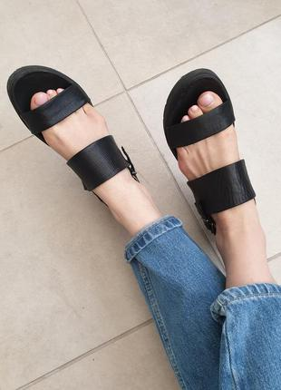 Качественные универсальные натуральные кожаные босоножки сандали натуральная кожа