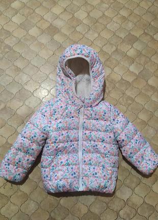 Демисезонная куртка для девочки f&f