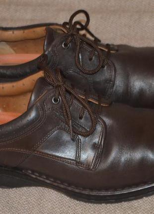 Туфли полуботинки сlarks 8,5 h uk разм