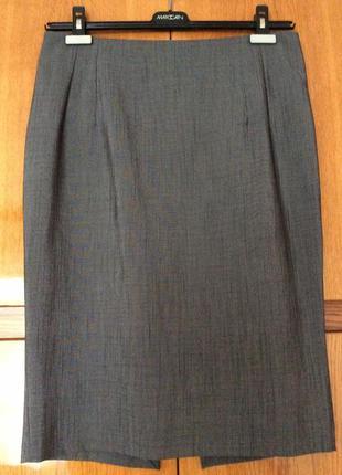Классическая фирменная юбка-карандаш, италия