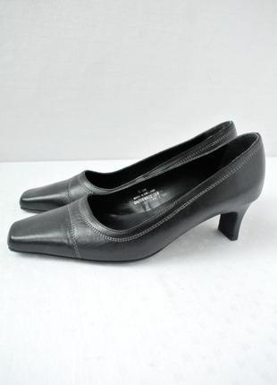 Стильные брендовые кожаные туфли footglove. размер uk 5/ eur 38.
