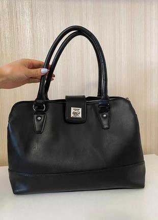 Atmosphere чёрная вместительная сумка