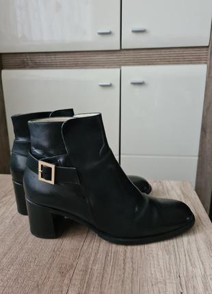 Кожаные ботинки bally