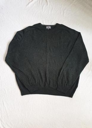 Мужской свитер  с натуральной шерсти