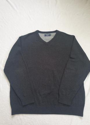 Мужской, котоновый свитер xl