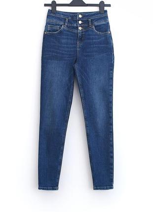 Шикарные плотные джинсы скинни с высокой талией lc waikiki