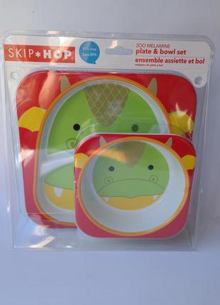 Skip hop новый набор тарелочек