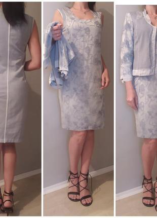 Elisa cavaletti комплект платье жакет.италия