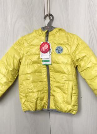 Двухсторонняя демисезонная куртка coccodrillo