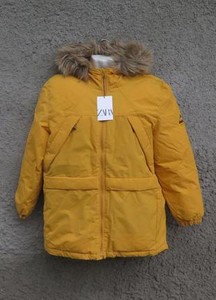 Новая куртка zara 13 14 лет парка zara 13 14 лет