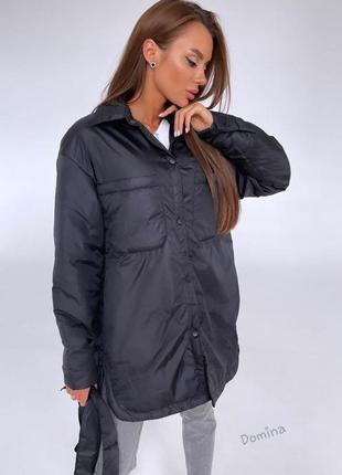 Куртка-рубашка 42-48 с поясом