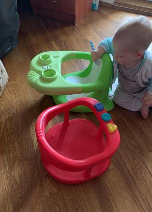 Стульчик сидушка для купания ребёнка