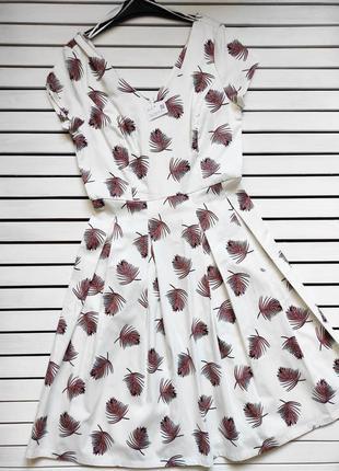 Котонова сукня-міді c&a, німеччина