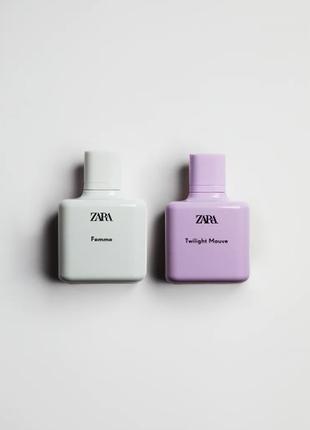 🌿 zara в наборі femme/twilight mauve 🌿 у наборі 2шт по 100мл