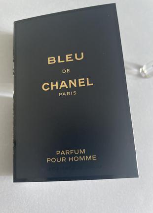 Bleu de chanel parfum pour homme 1.5 ml