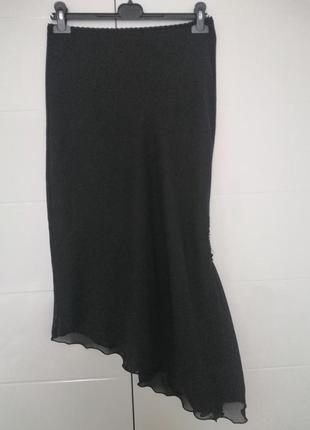 Спідниця юбка розмір виробника 12, чорного кольору