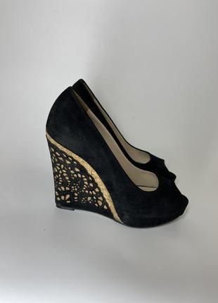 Туфли с открытым носком fellini размер 37 туфли платформа