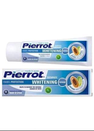 Pierrot отбеливающая зубная паста whitening (испания)