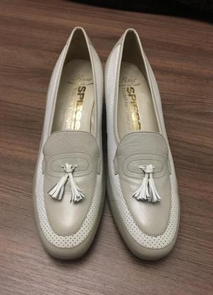 Туфли кожаные 40 - 41 рр.