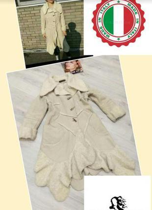 Пальто под дубленку. женское пальто . италия.