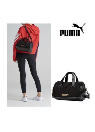 Puma puma women's prime premium handbag bag, black, osfa
