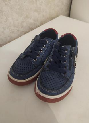 Стильные туфли мокасины на мальчика